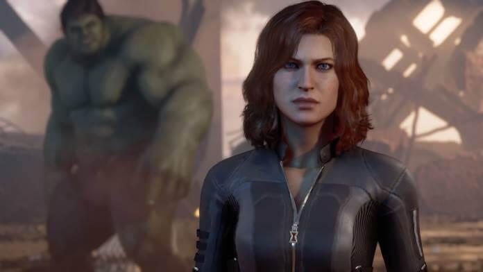 Black Widow und Hulk nach dem Kampf auf der Golden Gate Bridge