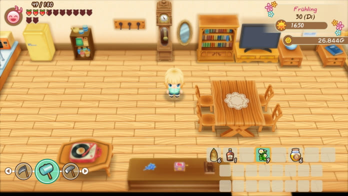 Review Story of Seasons Friends of Mineral Town für Nintendo Switch