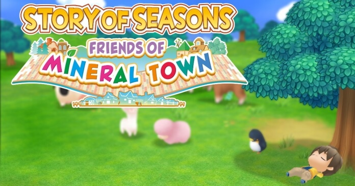 Review: Story of Seasons: Friends of Mineral Town für Nintendo Switch