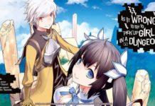 Manga Is It Wrong to Try to Pick Up Girls in a Dungeon? abgebrochen