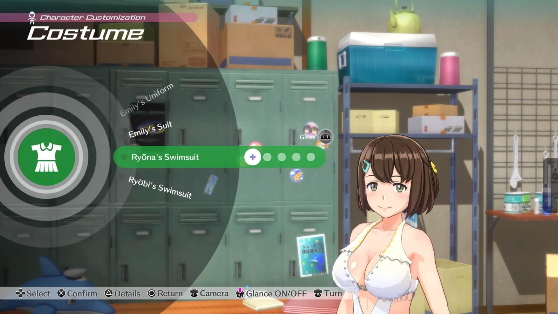 Review: Kandgawa Jet Girls für PlayStation 4 - Den Charakter individiualisieren