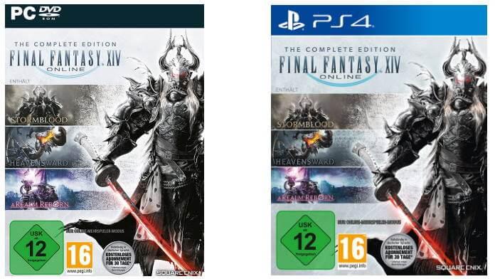 Final Fantasy XIV Complete Edition für PC und PS4 zu Gewinnen.