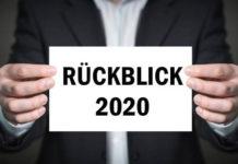 Special. Ein Rückblick auf das Jahr 2020