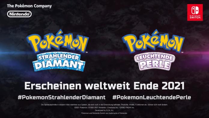 Pokémon Strahlender Diamant & Leuchtende Perle angekündigt