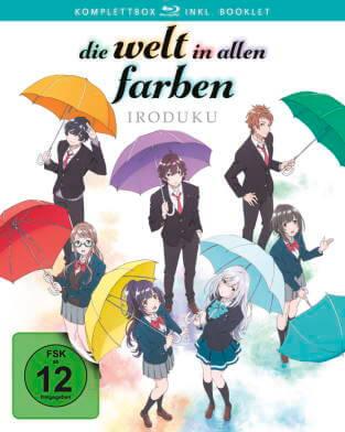 Review: Die Welt in allen Farben – Iroduku Komplettbox - Cover der Blu-ray Version