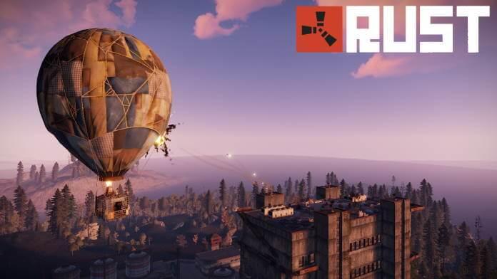 Rust Console Edition erscheint im Mai
