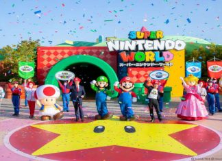 Super Nintendo World in Japan öffnet seine Pforten