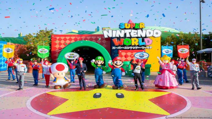 Super Nintendo World in Japan öffnet seine Pforten