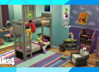 endlich sind sie da - hochbetten in die Sims 4