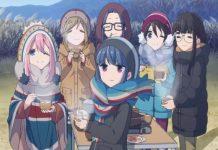 Laid-Back Camp Zeitraum zum Start des Anime-Films bekanntgegeben