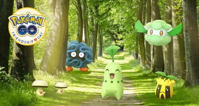Pokémon Go feiert den Freundschaftstag