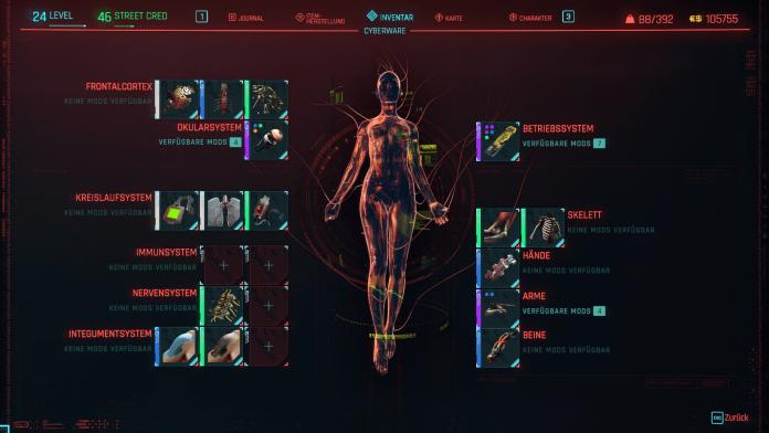 Cyberpunk 2077 PS - Cyberware