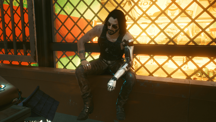 Cyberpunk 2077 PS - Johnny