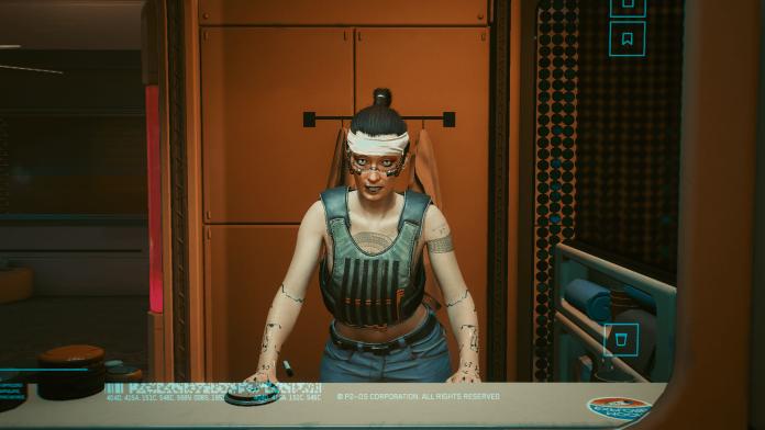 Cyberpunk 2077 PS - Meine V