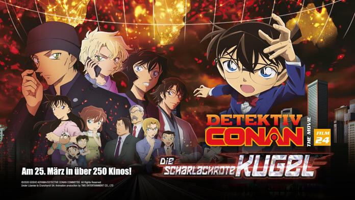 Detektiv Conan: Die scharlachrote Kugel ab Juni im Kino