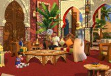 Neues Sims 4 Set geleakt Courtyard Oasis kommt im traditionellen marokkanischen Stil