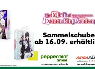 Peppermint anime lizensiert The Misfit of Demon King Academy