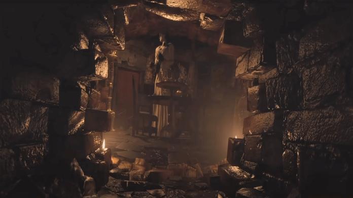 Resident Evil Demo - Lady Dimitrescu