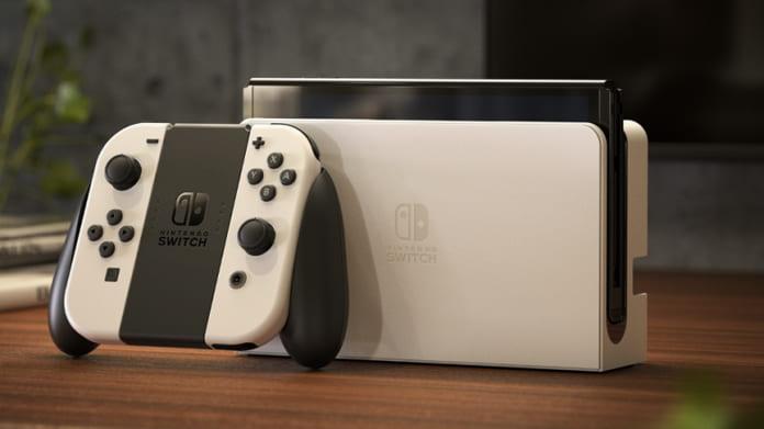 Nintendo Switch erscheint als OLED-Modell
