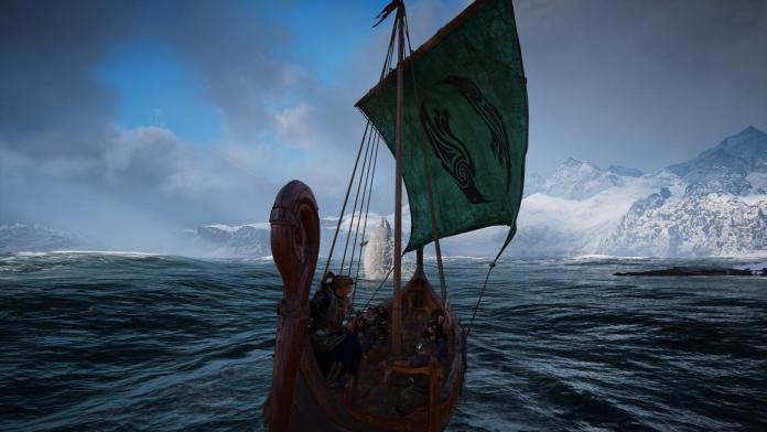 Review Assassin's Creed Valhalla für PlayStation 4 - Schiff